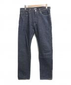 BURGUS PLUS(バーガスプラス)の古着「デニムパンツ」 ブルー