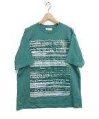 TAAKK(ターク)の古着「プリントtシャツ」 グリーン