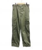 CIOTA(シオタ)の古着「ジャングルファティーグパンツ」|グリーン
