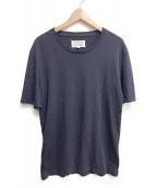 Martin Margiela 10(マルタンマルジェラ 10)の古着「クルーネックTシャツ」|ネイビー
