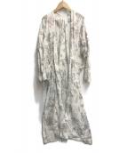 ()の古着「ロング ローブコート」