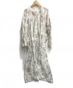 Veritecoeur(ヴェリテクール)の古着「ロング ローブコート」