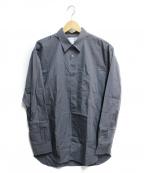 COMME des GARCONS SHIRT(コムデギャルソンシャツ)の古着「L/Sコットンシャツ」|グレー