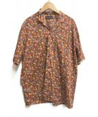 ()の古着「オープンカラーシャツ」|ワイン
