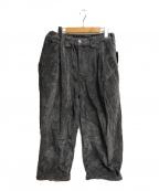 TIGHTBOOTH(タイトブース)の古着「CORD BAGGY PANTS」 グレー