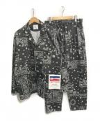FREAK'S STORE(フリークスストア)の古着「ペイズリーセットアップ」|ブラック