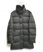 BURBERRY BLACK LABEL()の古着「ラビットファー付ダウンコート」 ブラック