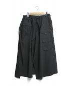 ()の古着「ヴィンテージクロスB/3フラップスカパン」|ブラック
