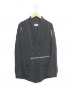 BED J.W. FORD(ベッドフォード)の古着「HAND STITCHED JACKET」|ブラック