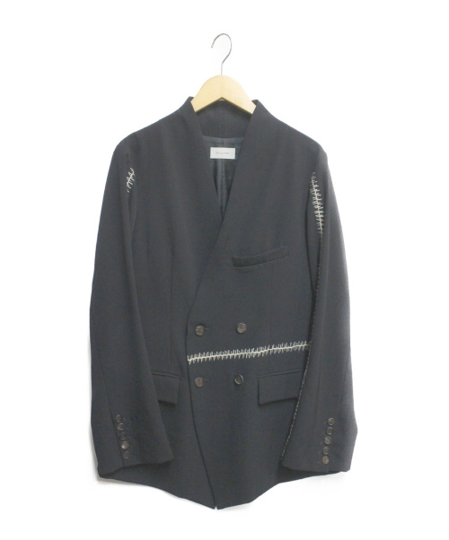 BED J.W. FORD(ベッドフォード)BED J.W. FORD (ベッドフォード) HAND STITCHED JACKET ブラック サイズ:1の古着・服飾アイテム