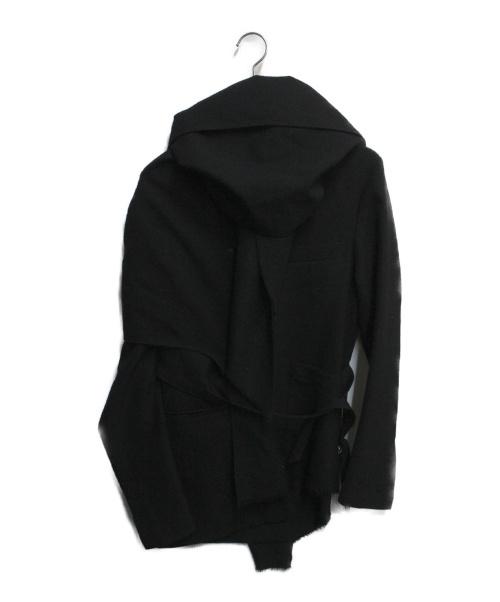 BED J.W. FORD(ベッドフォード)BED J.W. FORD (ベッドフォード) ストールドッキングサッカージャケット ブラック サイズ:SIZE Sの古着・服飾アイテム