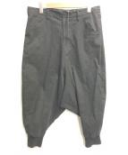 ()の古着「Fillipo wide pants」|ブラック