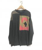ALMOSTBLACK(オールモストブラック)の古着「LAYERED CUTSEW」 ブラック