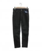 Acne(アクネ)の古着「デニムパンツ」|ブラック