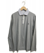 BRUNELLO CUCINELLI(ブルネロクチネリ)の古着「ポロシャツ」|グレー
