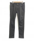 UNDERCOVER(アンダーカバー)の古着「ストレッチスリムパンツ」|ブラック