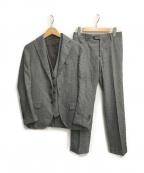 LARDINI(ラルディーニ)の古着「3ピーススーツ」 グレー