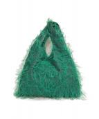 ()の古着「フリンジBAG」|グリーン