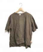 SUNSEA()の古着「LINEN BELTED T」|ブラウン