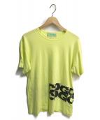 ()の古着「ロゴTシャツ」|ライムイエロー