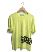 CDG(シーディージー)の古着「ロゴTシャツ」 ライムイエロー