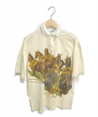 HERMES(エルメス)の古着「馬車柄ポロシャツ」|アイボリー