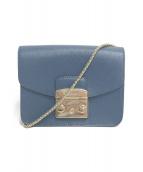 FURLA(フルラ)の古着「ショルダーバッグ」 ブルー