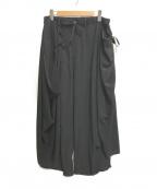 B Yohji Yamamoto(ビーヨウジヤマモト)の古着「B/HANGドレープP」 ブラック