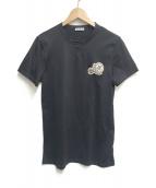MONCLER(モンクレール)の古着「MAGLIA T-SHIRT」|ネイビー