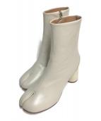 ()の古着「TABI short boots」|アイボリー