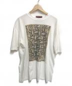 NEMETH(ネメス)の古着「ローププリントTシャツ」|ホワイト