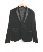 ()の古着「テーラードジャケット」 ブラック