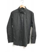 ()の古着「ボタンダウンシャツ」 ブラック