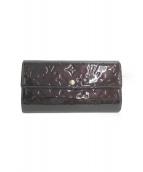 LOUIS VUITTON(ルイ ヴィトン)の古着「財布」|ボルドー