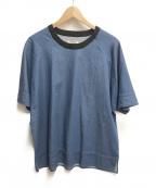 CLANE HOMME(クラネ オム)の古着「ライトデニムプルオーバー」|ブルー