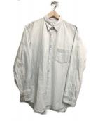 ()の古着「バイウォッシュステッチL/Sシャツ」|インディゴ