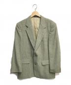DAKS(ダックス)の古着「ウールチェックテーラードジャケット」 グリーン