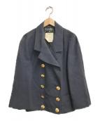 ()の古着「セットアップココマーク金釦テーラードジャケット」|ネイビー