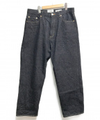 YAECA()の古着「13-14W DENIM PANTS」|インディゴ