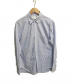 COMME des GARCONS SHIRT(コムデギャルソンシャツ)の古着「ストライプシャツ」|ブルー