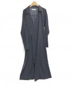 G.V.G.V(ジーヴィージーヴィー)の古着「SATIN MULTI WAY DRESS」|ネイビー