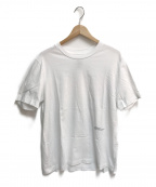 OAMC(オーエーエムシー)の古着「space earthTシャツ」|ホワイト