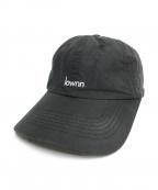 lownn(ローン)の古着「FRONT SIGNATURE CAP」|ブラック