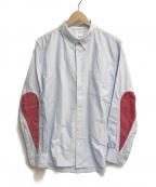 VISVIM(ビズビム)の古着「ALBACORE BANDANA N.D. L/S」 サックスブルー