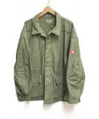 C.E(シーイー)の古着「GREY NOISE BDU Military Jacket」 グリーン