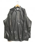 stein(シュタイン)の古着「OVERSIZED PULLOVER SHIRT」|ブラック