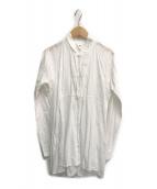()の古着「ラバリシャツブラウス」 ホワイト