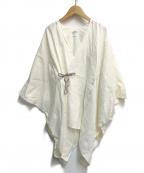 SOU・SOU(ソウソウ)の古着「麻小袖羽織」|アイボリー