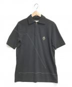 A-COLD-WALL(ア コールド ウォール)の古着「メタルプレートポロシャツ」 ブラック