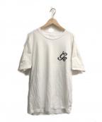 GOD SELECTION XXX(ゴットセレクショントリプルエックス)の古着「バックプリントTシャツ」|ホワイト